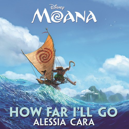 alessia cara, how far i'll go, sheet music, piano notes, chords, news, billboard, mtv, vh1, disney, motion picture, soundtrack